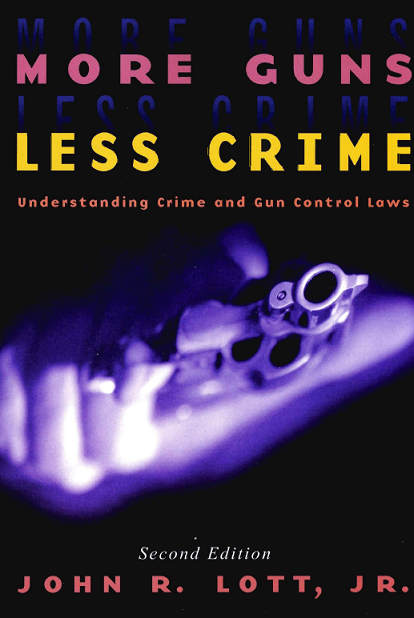 more gun control or less Co-written with ilona szabé de carvalho more guns equal more lethal crime  the evidence is convincing studies consistently show how.