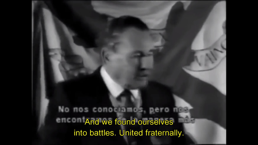 Léon Degrelle General of the European Waffen-SS speaks.jpg