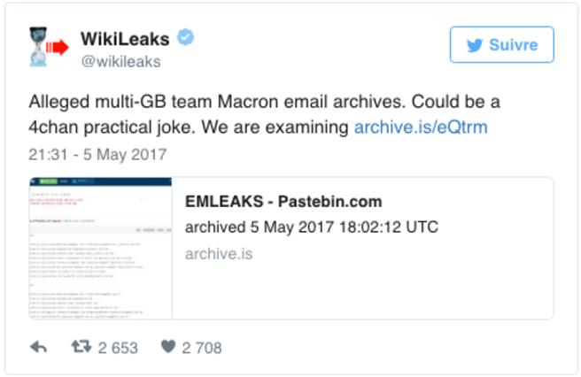 Macron Leaks - The Savoisien