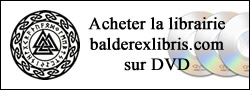 Balder Ex-Libris librairie sur DVD