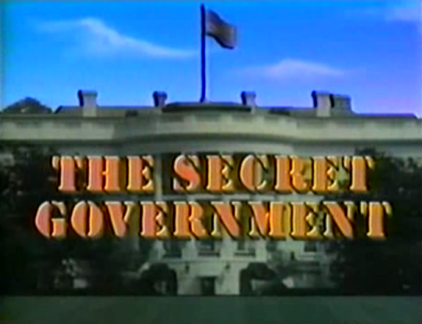The secret government the constitution in crisis year 1987