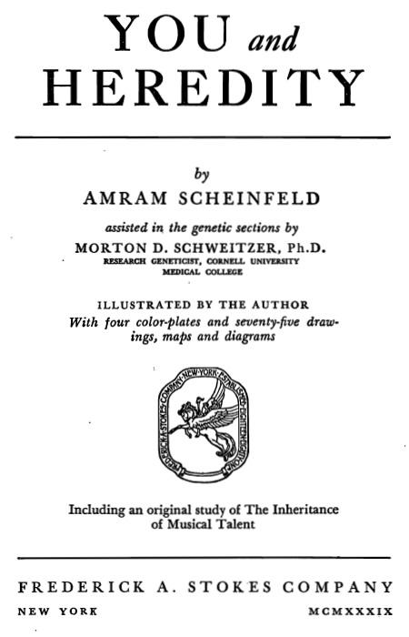 Scheinfeld_Amram_-_You_and_Heredity.jpg